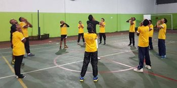'Brighter You' programme - Basketball Clinic Season 3