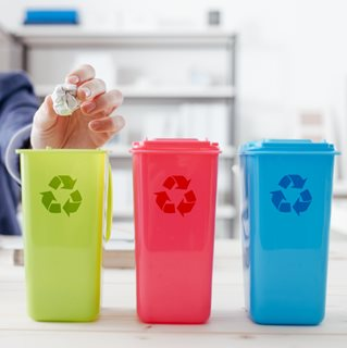 You recycle at home - why not at the office?